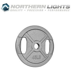 Northern Lights Olympic Standard Weight Plate, 45lbs WPOS45