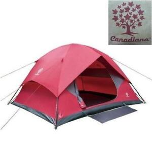 NEW Canadiana 6 Person Dome Tent - Instant Hybrid Dome Tent