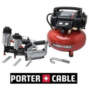 NEW PORTER-CABLE 3 TOOL COMBO KIT PCFP12234 202848433 POWER TOOL