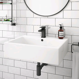 Brand new Victorian plumbing basin