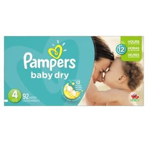 Pampers Baby Dry Size 4 (64 diapers)
