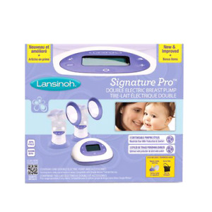 Lansinoh Double Electric Breast Pump & Breast feeding Accessorie