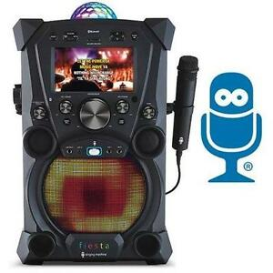 USED* SM FIESTA KARAOKE SYSTEM SINGING MACHINE - ELECTRONICS - MUSIC 100071246