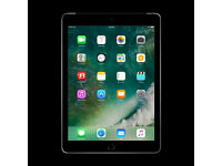 "9.7"" Apple iPad Wi-Fi & 4G Cellular 2017 Unlocked IOS 11.2 Like New"