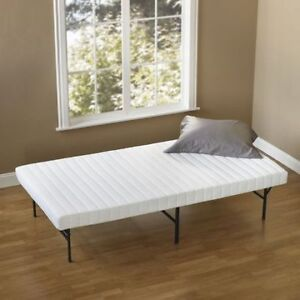"Spa Sensations 4"" Quilted Top Foam Mattress"