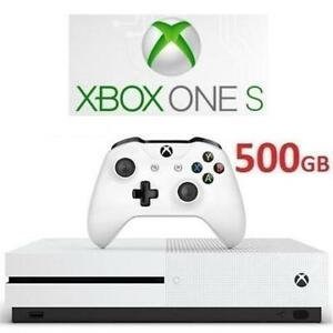 RFB XBOX ONE S 500GB CONSOLE 198605680 MICROSOFT VIDEO GAME SYSTEM REFURBISHED