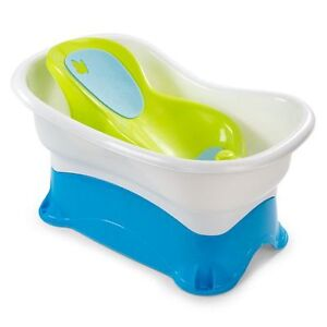 Summer Infant Right Height Bath Center Tub(Birth to 3)