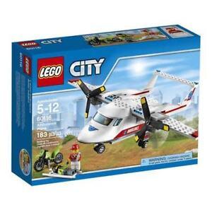 LEGO City Ambulance Helicopter 60179 new sealed mint box