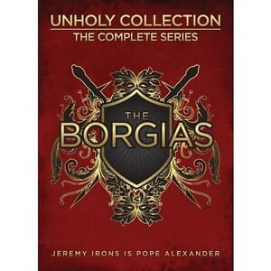 The Borgias:Unholy CollectionTheCompleteSeries BELOWCOST 25% OFF Edmonton Edmonton Area image 1