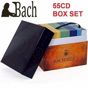 NEW CD BOX SET BACH SACRED CANTATAS   MUSIC - BACH: THE COMPLETE SACRED CANTATAS - 55 CDS CLASSICAL 97490173