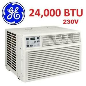 NEW ENERGY STAR AIR CONDITIONER AEH24DX 247412924 GE APPLIANCES 24, 000 BTU 230V