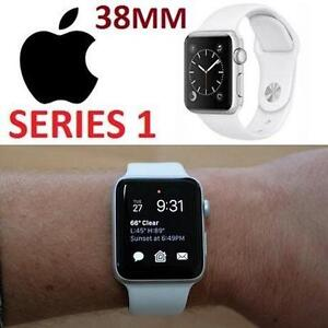 REFURB APPLE WATCH SPORT 38MM GEN 2 38MM SILVER - ALUMINUM CASE W/ WHITE SPORTS BAND - SERIES 1/GEN 2 107703952