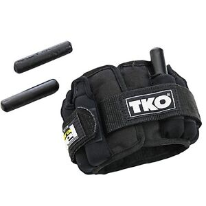 Adjustable Wrist/Ankle Weights - Pair of 2.5 Lbs AWAWA025TKO