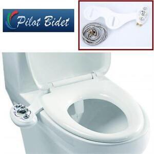 NEW PILOT BIDET NON ELECTRIC BIDET WARM WATER/TWIN NOZZLE Home Improvement Bath bathroom Fixtures