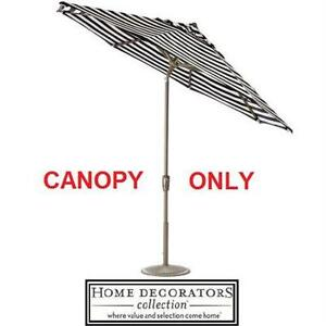 NEW HDC 9' FT REPLACEMENT CANOPY HOME DECORATORS COLLECTION-SUNBRELLA MAXIM - UMBRELLA SHADE PATIO FURNITURE