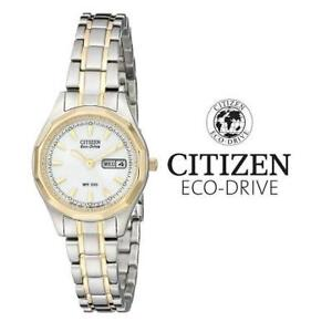 USED WOMEN'S ECO-DRIVE WATCH EW3144-51A 205500370 CITIZEN JEWELLERY JEWELRY STAINLESS STEEL