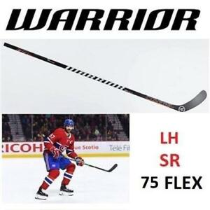 NEW WARRIOR QR EDGE HOCKEY STICK LH W71 212737875 LEFT HAND COVERT PACIORETTY 75 FLEX SENIOR SR