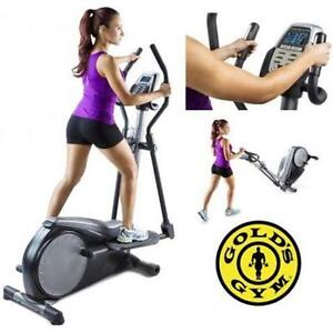 NEW GOLD'S GYM 310 STRIDE TRAINER GOLDS ELLIPTICAL FITNESS EXERCISE EQUIPMENT Machines Home Gyms 74837937