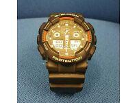 CASIO-MEN'S G SHOCK WORLD TIME WATCH 5081
