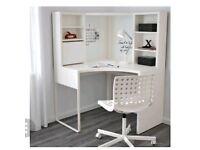 White corner desk IKEA RRP£135
