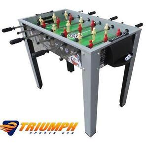 """NEW TRIUMPH 40"""" FOOSBALL TABLE - 108873196 - MLS GAME ROOM TABLE RECREATION GAMES TABLES SOCCER TEAM SPORTS"""