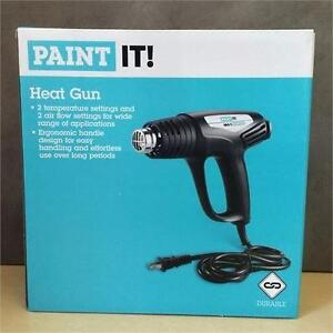 NEW, Heat Gun 2 Temperatures 2 Air Flow Repair Cellphone Tablet Lcd Screen Paint