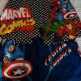 Captain America/Marvel boxers 11-12