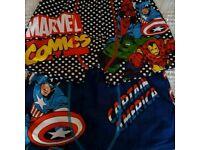 Captain America/Marvel boxers 11-12