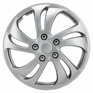 "Alpina 16"" Silver Sport Wheel Cover 3 pack new"