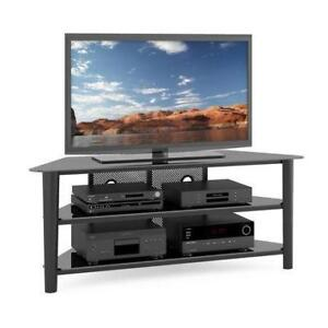 "CorLiving TV Stand for TV's Up To 68"" - BLACK - Model #: TAL-604-T *NO TAX*"