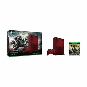 NEW Xbox One S Gears of War 4 Limited Edition Bundle (2To)