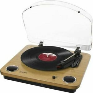 Ion LP record player turntable with built in speakers