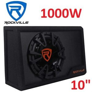 """10"""" sub with built in amp (1000watts)"""
