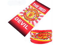 Manchester United FC - Red Devil Football Fans Face Mask Bandana Baraclava Scarf Free Shipping