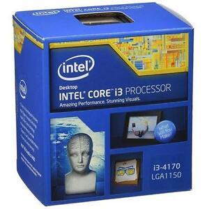 NEW INTEL COREi3 CPU PROCESSOR CORE i3-4170 3.7GHz 3MB Socket LGA1150 - COMPUTER COMPONENTS - ELECTRONICS  81085915