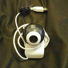 Logitech webcam V-UAP42 USB clip on camera