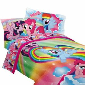 My Little Pony comforter and sheet set