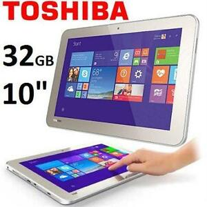 "REFURB TOSHIBA ENCORE 2 TABLET 32GB   10.0"" DISPLAY - WIFI TABLET - SATIN GOLD  86719141"