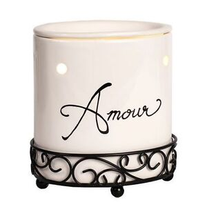NEW: ScentSationals Amour Wax Warmer set (Both for $25 only)