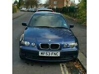 BMW 316TI COMPACT AUTO 2003