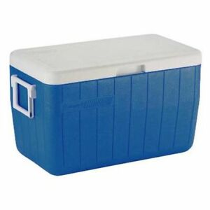 PRICE FIRM Coleman 48 qt Hinged Lid Cooler