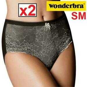 2 NEW WONDERBRA UNDERWEAR WOMEN SM 684 238487677 WOMENS SM MEDIUM CONTROL PANTY CHANTILLY LACE