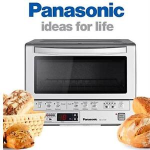 NEW PANASONIC TOASTER OVEN FLASHXPRESS - FLAHS EXPRESS - SILVER - KITCHEN SMALL APPLIANCES - OVENS TOASTER 76209926
