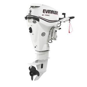 Used 2013 Evinrude Etec 25 hp