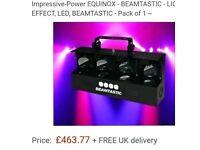 Equinox Beamtasic DMX DJ Disco Light