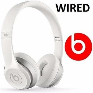 NEW OB BEATS SOLO2 HEADPHONES   WHITE - ON-EAR - SOLO 2 - WIRED - HOME AUDIO ELECTRONICS  89984774
