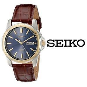 USED MEN'S SEIKO SOLAR WATCH SNE102 205317646 JEWELLERY JEWELRY LEATHER STRAP