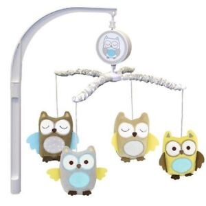 Child of Mine By Carter's Treetop Friends Owl Mobile & Comforter