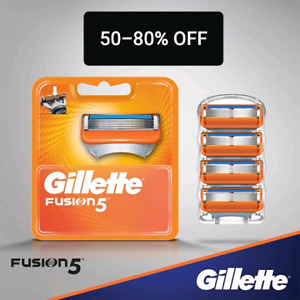 Gillette Fusion Razors Refills Only $5-$10/ pack