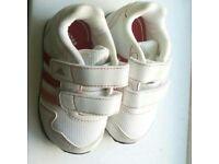 Girls Adidas baby trainers brand new